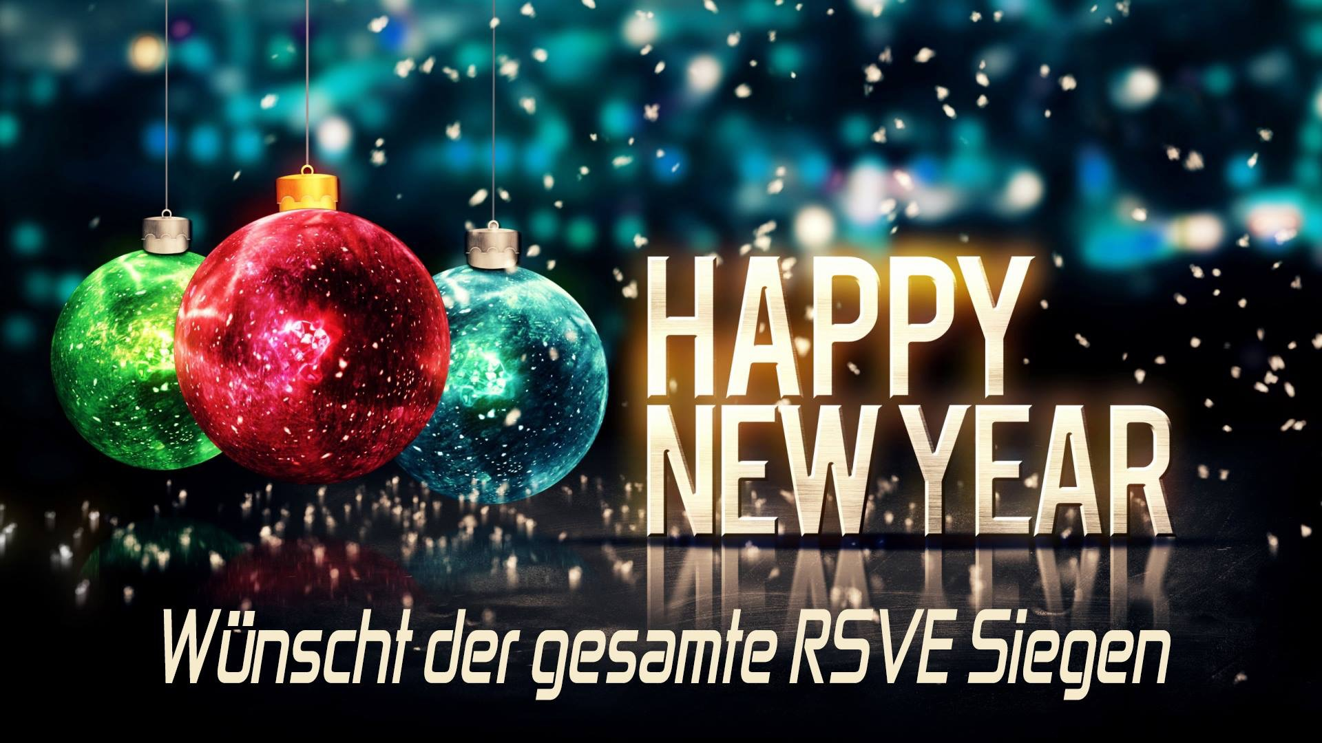RSVE Siegen: FROHES NEUES JAHR 2017 !!!